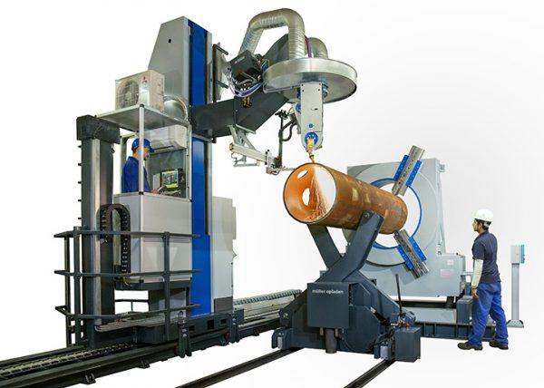 3D Pipe Profile Cutting Machine